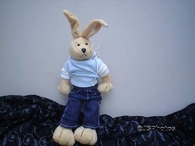 Ganz Heritage Collection Rabbit Hunny Bunny 14 inch Rare Kiss on Cheek