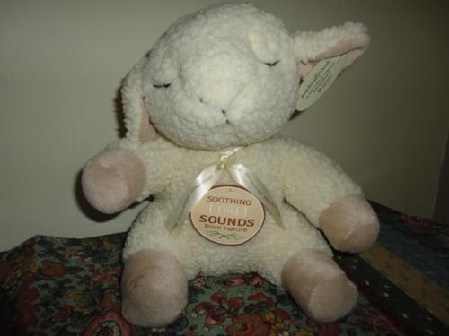 Cloud B Sleep Sheep Soothing Sounds Plush Battery Op
