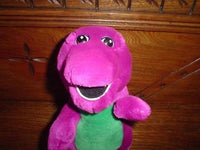 BARNEY Soft Plush Toy Dinosaur 9 inch Authentic Original