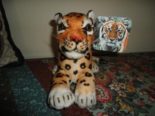 Best Made Toys Canada Stuffed LEOPARD Laying Preformed Head Handpainted wTags