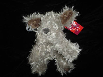 Russ Berrie Furly Terrier Dog Plush 24651 Original Tags