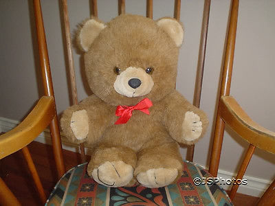 "Ganz Benson Teddy Bear Jumbo 20"" 1994 G980BL Retired"