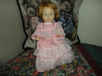 IDEAL Baby Doll Vintage 1984 Rubber 9 inches
