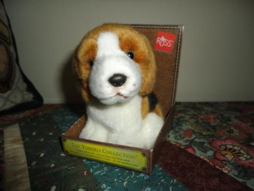 Russ BEAGLE Dog Yomiko Designer Couture Collection NEW in Box