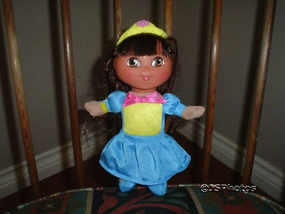 Dora The Explorer Stuffed Doll 2004 Fisher Price Mattel