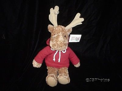 Bear Lane Moose With All Tags 8 Inch Rare Plush