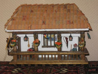 Vintage Handmade Italy Cottage House Wall Decoration RARE