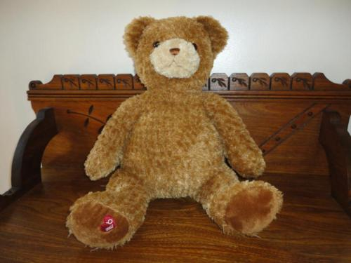 "Gund Bear Exclusive Only Bloomingdales 2007 Large 16in "" Little Brown Bear """