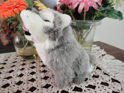Howling Wolf Toy Stuffed Animal House Canada 7 inch