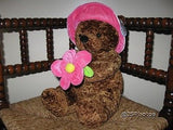 Beaulie Girl Bear with Flower From Amsterdam Holland