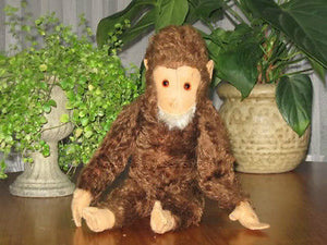 Antique Hermann Chimpanzee Mohair 18.5 Inch tall