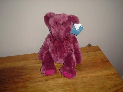 Dakin Teddy Bear Plush 14 Inch Rosa Light Rose Scented All Tags 1990s
