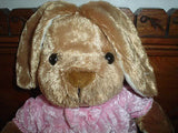 Girl Bunny Rabbit Cute Velvet Soft Plush 12 inch