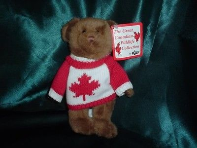 Russ Berrie Great Canadian Wildlife Collection Bear