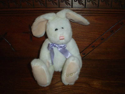 Godiva Chocolates Easter Bunny Rabbit Stuffed Plush 1990s 12in. Foot Embroidered