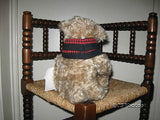 Deans Sullivan Yes No Bear 100% Beige Mohair Artist Designed Barbara Sixby Usa