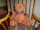 Gund Heads & Tales Brown Bear 42751 Large 20 Inch  2003