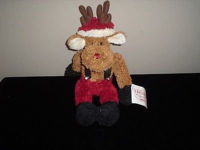 Ganz Heritage Collection Pets 2001 Ruben Christmas Reindeer 13.5 inch
