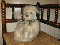 Harrods UK Alfie Teddy Bear Mint In Bag Retired