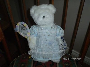 Avon Bear Hat Box Teddies Buttercup 12 Inch Wtags