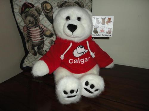 Stuffed Animal House Canada BOO BEAR Cuddle Critters Nr 3 of 7 in Set