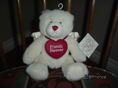 Ganz Angel Bear Friends Forever All Tags PB104 2001 New with Tags 9 inch