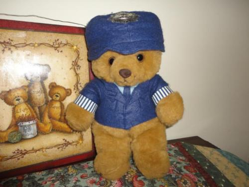 Vintage UK Sweet Dreams Bear Police Bobby Made in West Sussex England