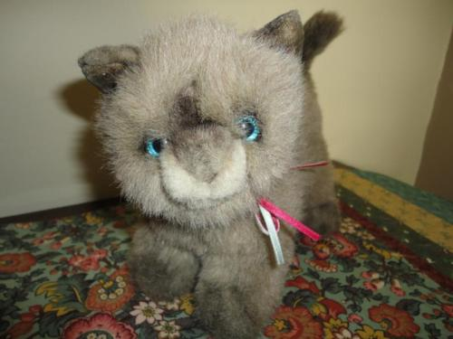 Gund 1991 SIAMESE CAT Collectors Classic Ltd Edition 18 inch