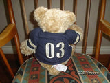 Gund Pottery Barn Kids Plush Teddy Bear Sports Clancy 15 Inch 43098 2003