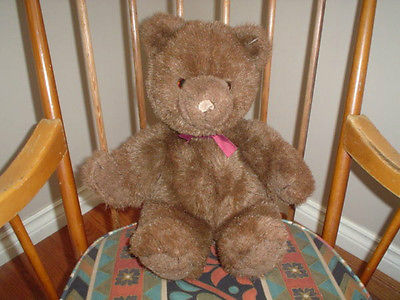Gund Brown Bear Collectors Classic 19 inch Retired 1983