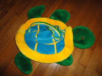 Toronto SkyDome Mascot DOMER Turtle Large 22 in Plush Carry Bag RETIRED Historic