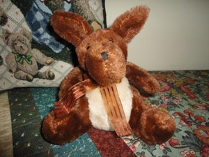 Baby KANGAROO Squishy Velvety Soft Brown Plush Toy 6 inch
