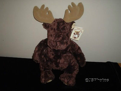 Gund Chocolate Moose Plush 21 Inch 8750 All Tags 2000