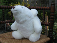 Gund Snuffles White Bear Big 13 inch Sitting No IDS CUTE