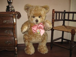 Steiff Studio JACKIE Bear 408533 1953 Replica WORLDS LARGEST 29.5inch - 75 cm