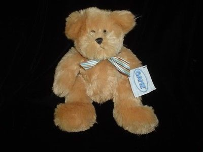 Ganz Teddy Bear Pinstripe  H6288 11 Inch All Tags New