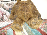 Cartoon Face BROWN GRIZZLY BEAR Plush Large 20 inch FUNNY CUTE