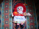 Applause Raggedy Ann Musical Doll 8 Inch Hasbro 2003