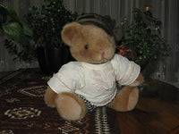 Anna Club Plush Holland 12 Inch Classic Jointed Brown Teddy Bear 1992