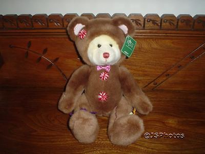 Russ Cookie Christmas Candy Gingerbread Bear 14 inch