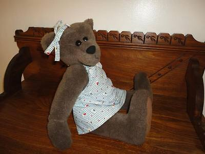 CANADA Artist One of a Kind Bear 16 Inch OOAK Vintage