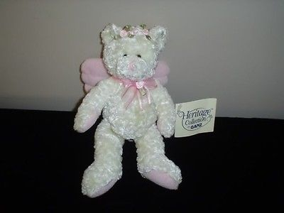 Ganz Rosette Angel Bear H5025 Heritage Collection 2001