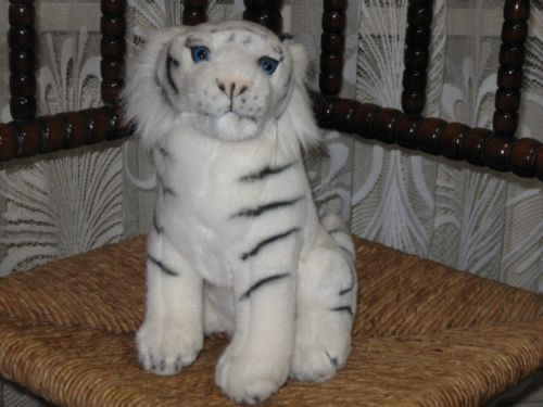 Geharo Drempt Holland SIBERIAN TIGER Sitting Plush GORGEOUS
