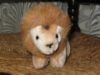 Gund Vintage K-1 Standing Lion Plush Animal 20CM 1982