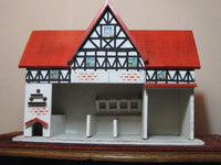 Antique 1920s Wooden Gottschalk Germany German Farm Stables Doll House