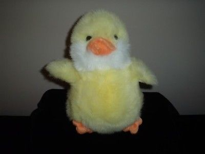 Russ Berrie Waddles 8 Inch  Duck Plush 4147