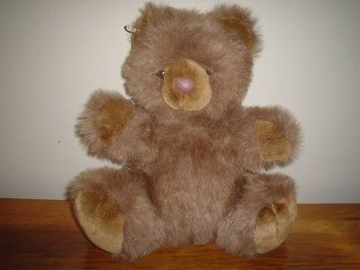 Ganz Sitting Teddy Bear CH1315 16 Inch Retired 1996
