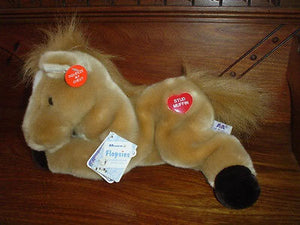 Aurora A&A Plush Flopsies Collection Large 12in. Talking Horse Stud Muffin 07162
