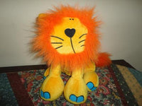 Elfe Quebec Canada LION PLUSH Bang on the Door Childrens Toy
