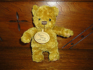 Hallmark Artist Mary Hamilton 50th Anniversary From Mary with Love Bear 7 inch